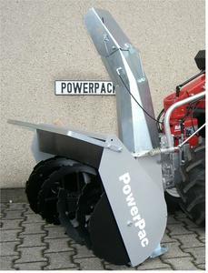 PowerPac Schneefräse 80cm
