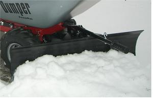 PowerPac Schneeschild 85cm inkl. Gummileiste