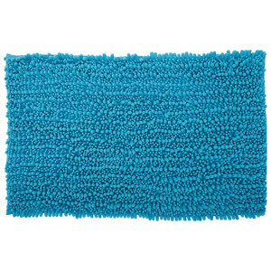 Micro-Chenille Badematte (50x80, türkis)