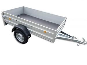 TPV PKW-Anhänger TL-EU 2010/75 AL Alu 750 kg ,  ungebremst, Kasteninnenmaße 203 x 108 x 35 cm (L x B x H)