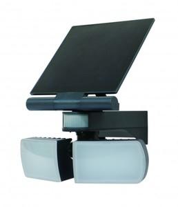 Trendline Solar LED Fluter ,  schwarz mit Bewegungsmelder