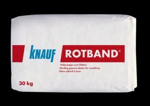 Knauf Rotband Haftputzgips ,  hellgrau, 30 kg