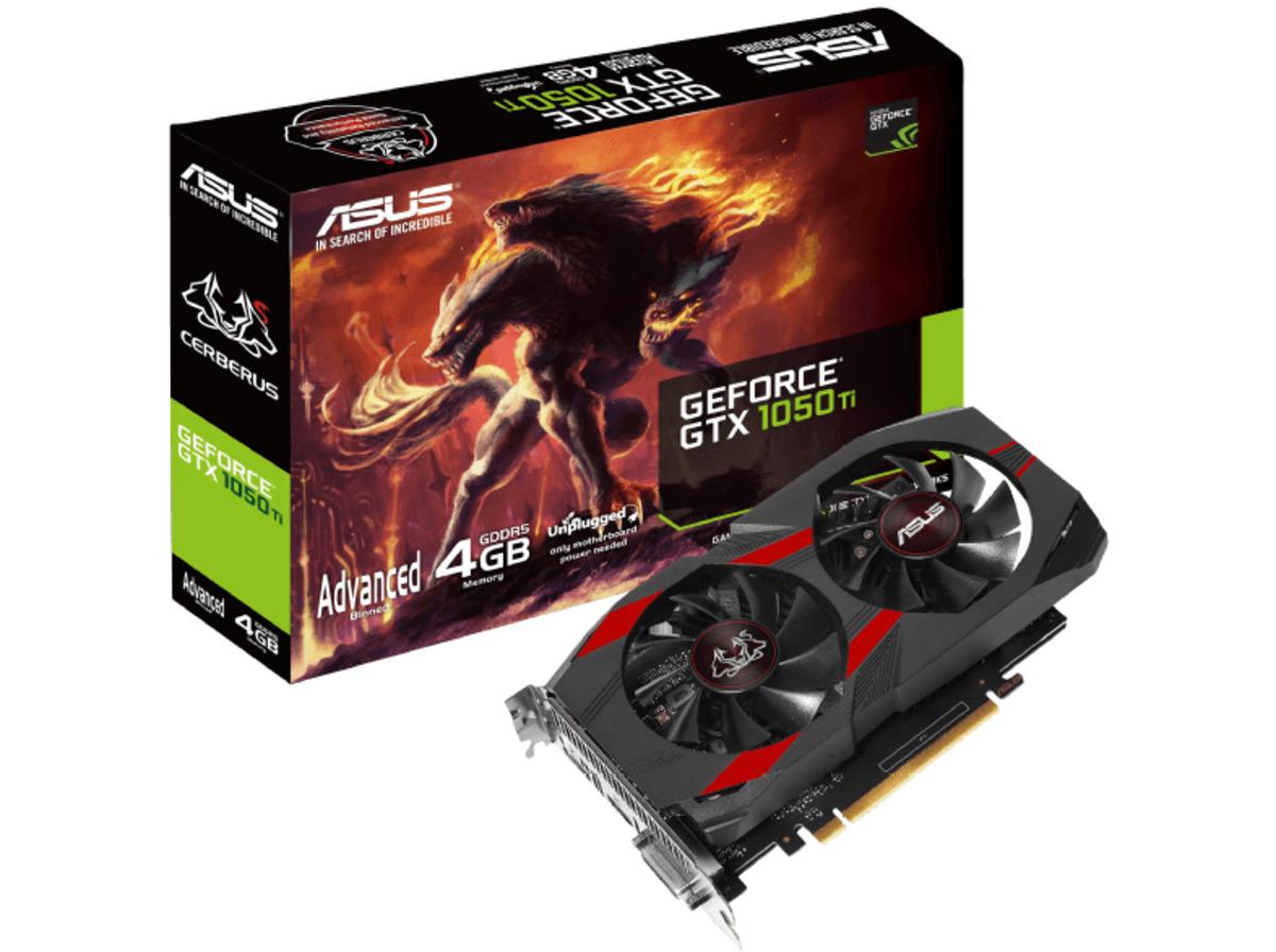Bild 1 von ASUS GeForce® GTX 1050 Ti Cerberus Advanced 4GB (90YV0A75-M0NA00) (NVIDIA, Grafikkarte)