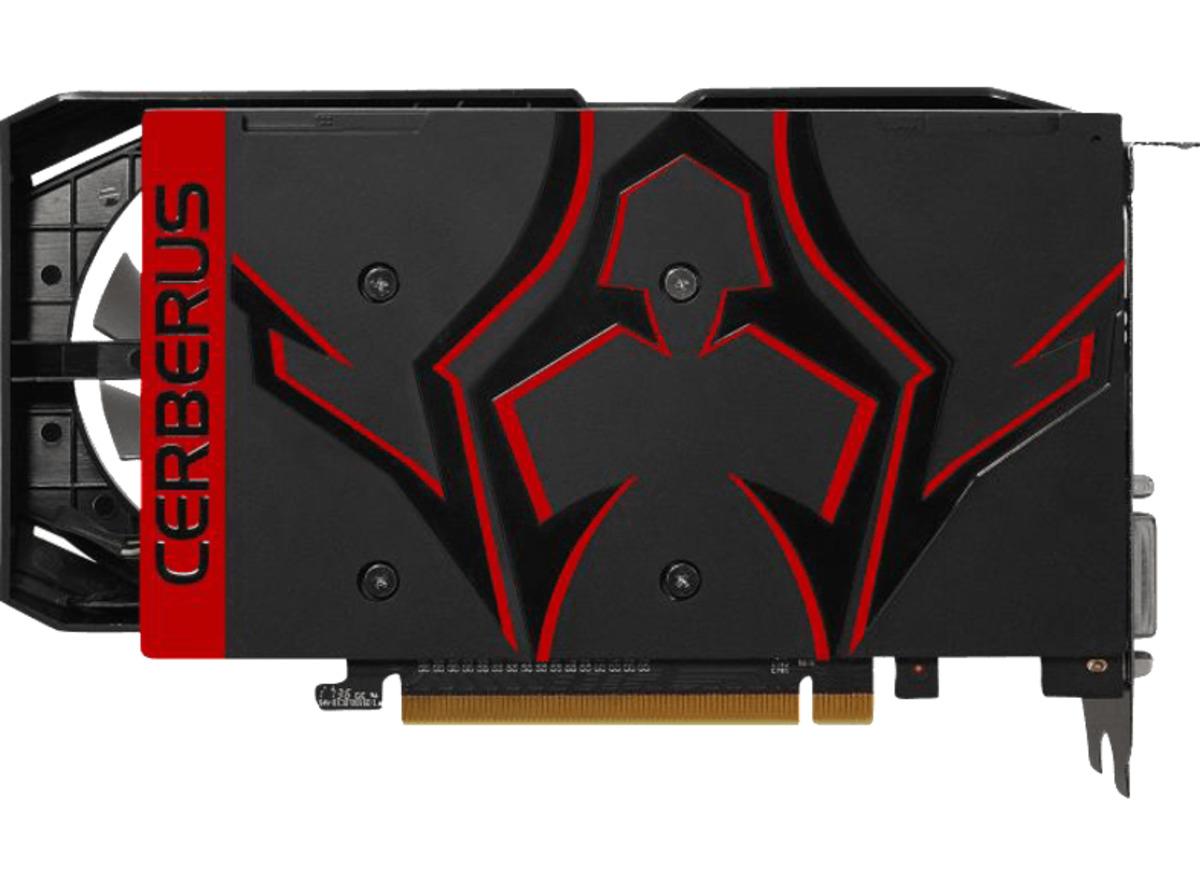 Bild 4 von ASUS GeForce® GTX 1050 Ti Cerberus Advanced 4GB (90YV0A75-M0NA00) (NVIDIA, Grafikkarte)