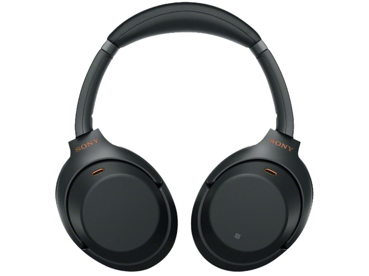 Bild 4 von SONY WH-1000XM3, Over-ear Kopfhörer, Near Field Communication, Headsetfunktion, Bluetooth, Schwarz