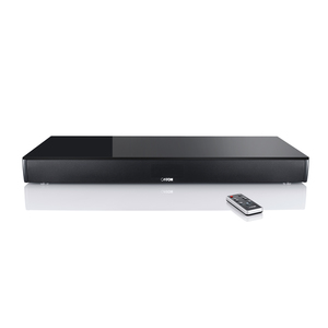 Canton DM 75 (schwarz) - 2.1 Virtual-Surround-System (200 Watt, Bluetooth 3.0 (apt-X), Dolby Digital)