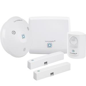 Homematic IP Starter Set Alarm Extra (Access Point, Bewegungsmelder, Alarmsirene, 2x Fenster- & Türkontakt)