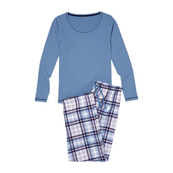 pretty nice c6ba4 ad619 QUEENTEX , Flanell-Pyjama