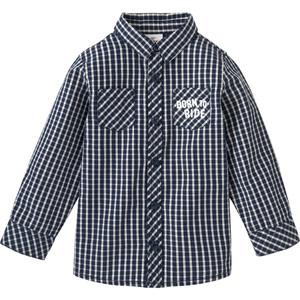 Jungen Hemd im Karo-Design