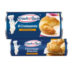 Knack & Back Brötchen, Hörnchen, Croissants oder Zimtschnecken