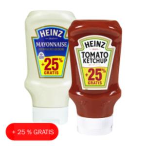 Heinz Ketchup oder Snack Saucen