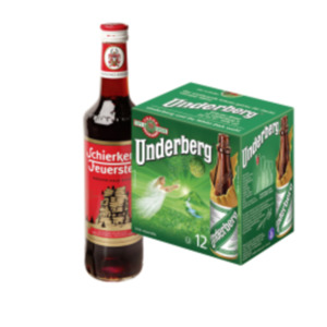 Underberg Kräuter-Bitter oder Schierker Feuerstein Kräuter-Halb-Bitter