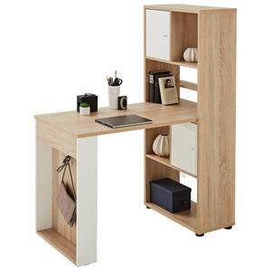 Carryhome MINI-OFFICE Schreibtisch seitenverkehrt montierbar Weiß