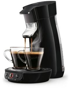 Senseo Kaffeepadmaschine HD6563/60 ,  Viva Cafe Kaffeepadmaschine Schwarz