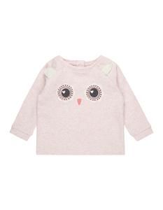 Newborn Sweatshirt mit Eulen-Motiv