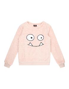 Mädchen Sweatshirt aus Teddyfell