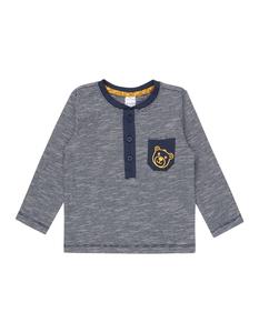 Newborn Serafino-Shirt mit Brusttasche