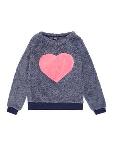 MŠdchen Sweatshirt aus Teddyfell