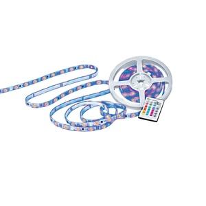 casaNOVA LED RGB Flexband /Stripe 500 cm FLEXI mit Farbwechsel und Fernbedienung