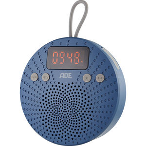 ADE Bluetooth-Duschradio, blau