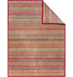 Wohndecke, Ibena, »Messina Modern«, mit bunten Streifen