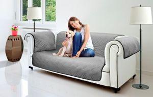 Wendeschutzdecke 2in1, 3er Couch grau