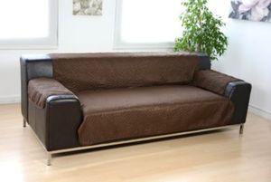 Wendeschutzdecke 2in1, 3er Couch beige