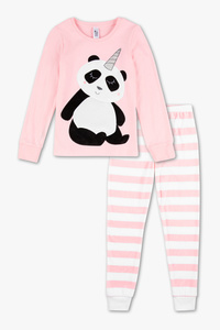Here and There         Pyjama - Glanz Effekt - 2 teilig