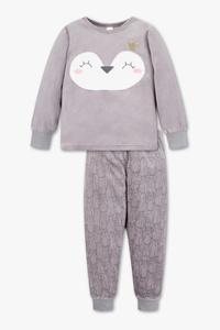 Palomino         Pyjama - 2 teilig - Glanz Effekt