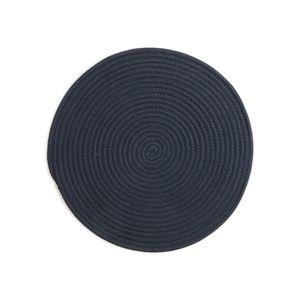 Tischset Tau, D:38cm, dunkelblau