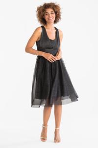 Yessica         Fit & Flare Kleid - Glanz Effekt - festlich