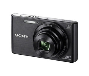 SONY-Kompaktkamera DSC-W830 inkl. Kameratasche und Speicherkarte