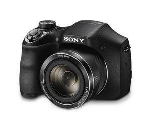 Sony-Einstiegs-Bridge-Kamera DSC-H300, inkl. Kameratasche und Speicherkarte