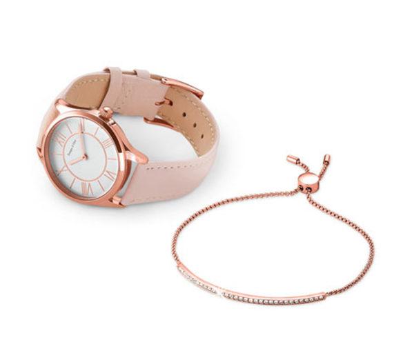 Damenuhr und Armband im Set