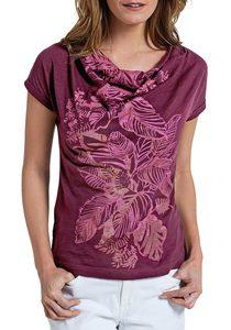 Kurzarm T-Shirt bedruckt