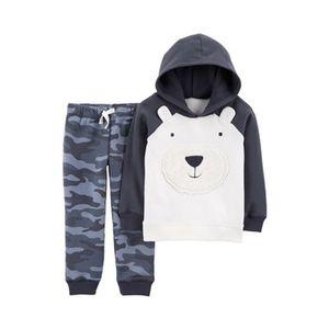 CARTER´S   2-tlg. Set Sweatshirt mit Kapuze und Jogginghose Bär