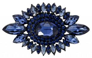 Brosche - Wonderful Blue