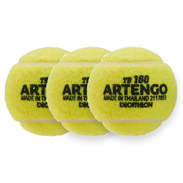 Tennisbälle TB 160 3er-Pack Artengo