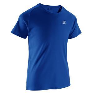 T-Shirt Leichtathletik Club personalisierbar Kinder blau