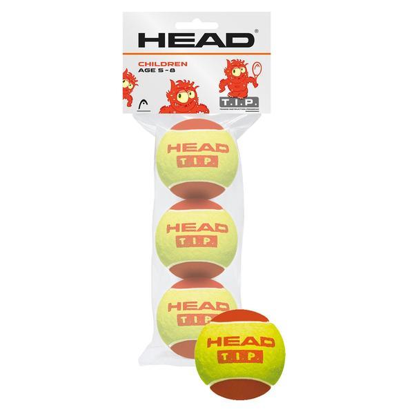 Tennisball HEAD rot 3 Stück