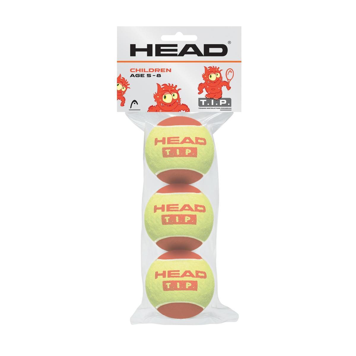 Bild 2 von Tennisball HEAD rot 3 Stück