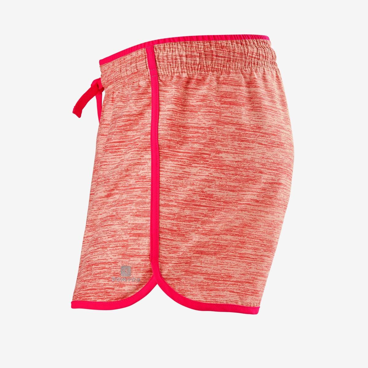 Bild 2 von Sporthose kurz W500 Gym Mädchen rosa