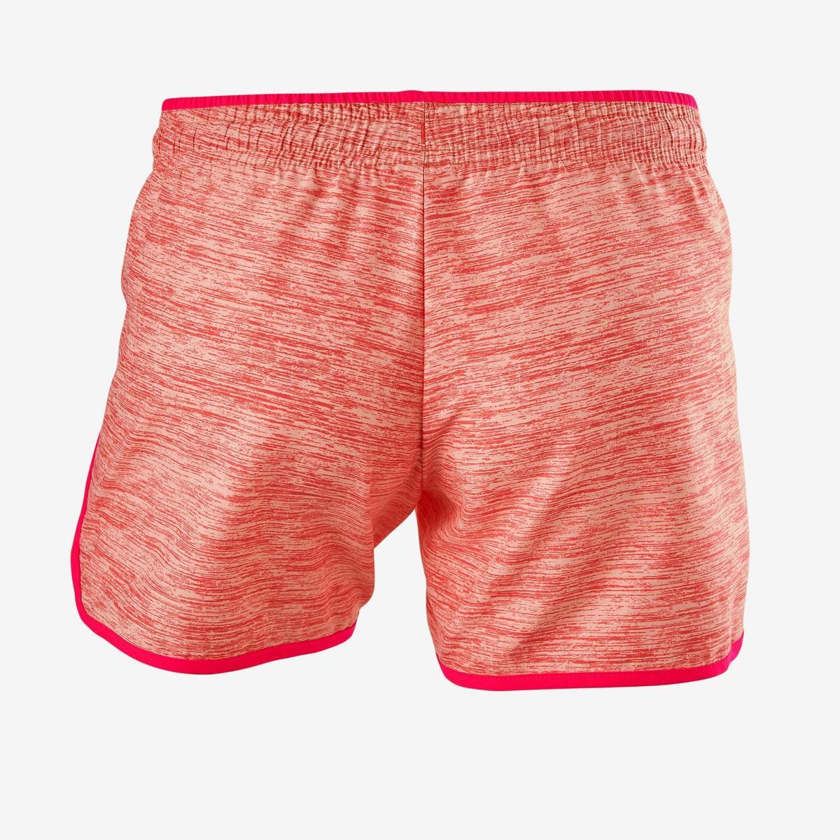 Bild 3 von Sporthose kurz W500 Gym Mädchen rosa