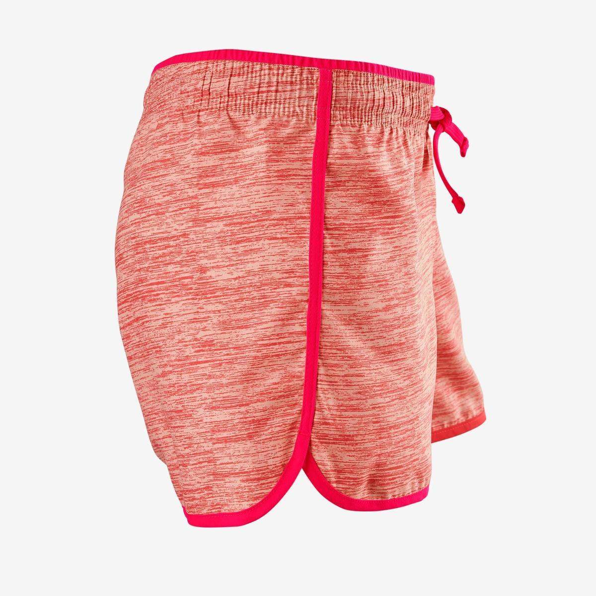 Bild 4 von Sporthose kurz W500 Gym Mädchen rosa