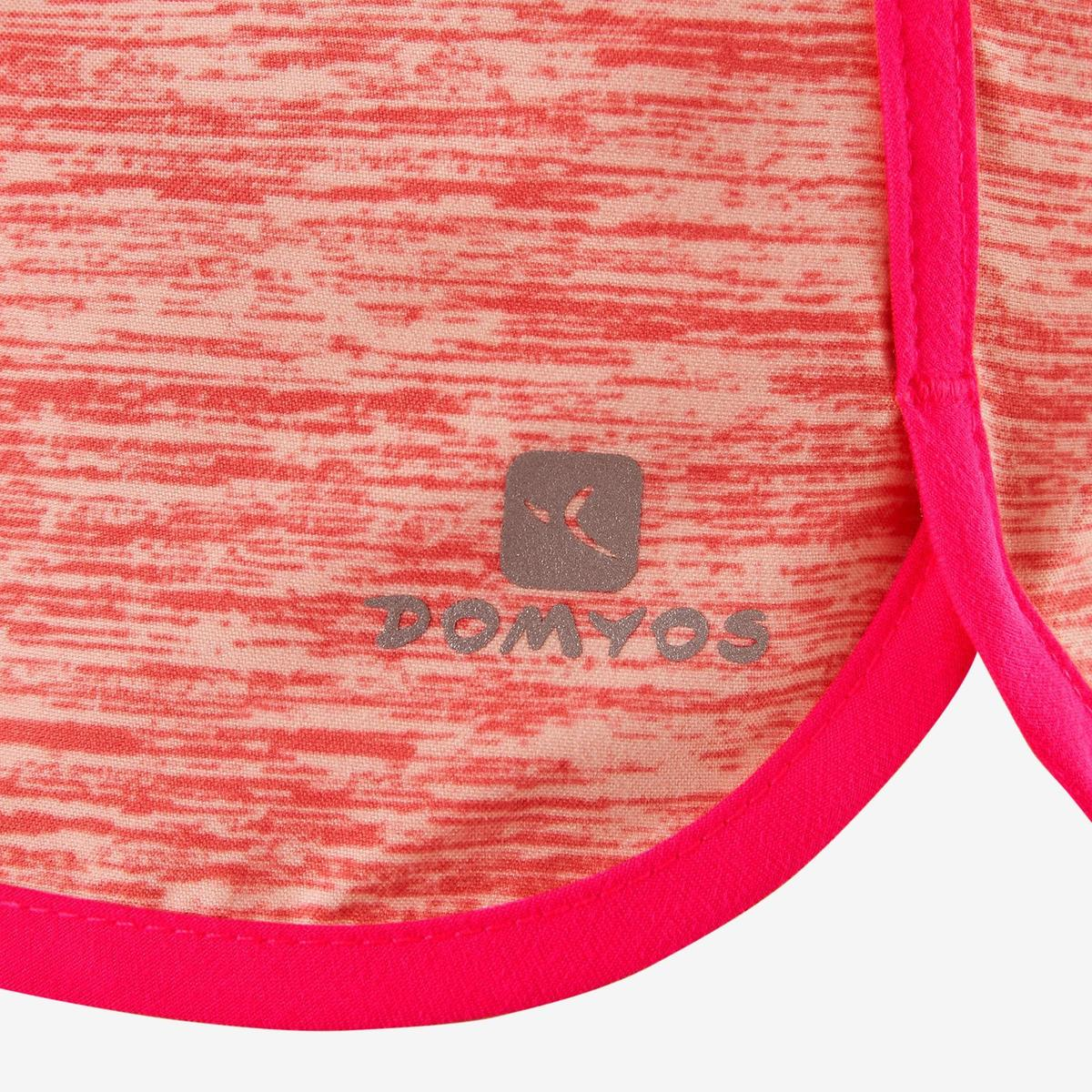 Bild 5 von Sporthose kurz W500 Gym Mädchen rosa
