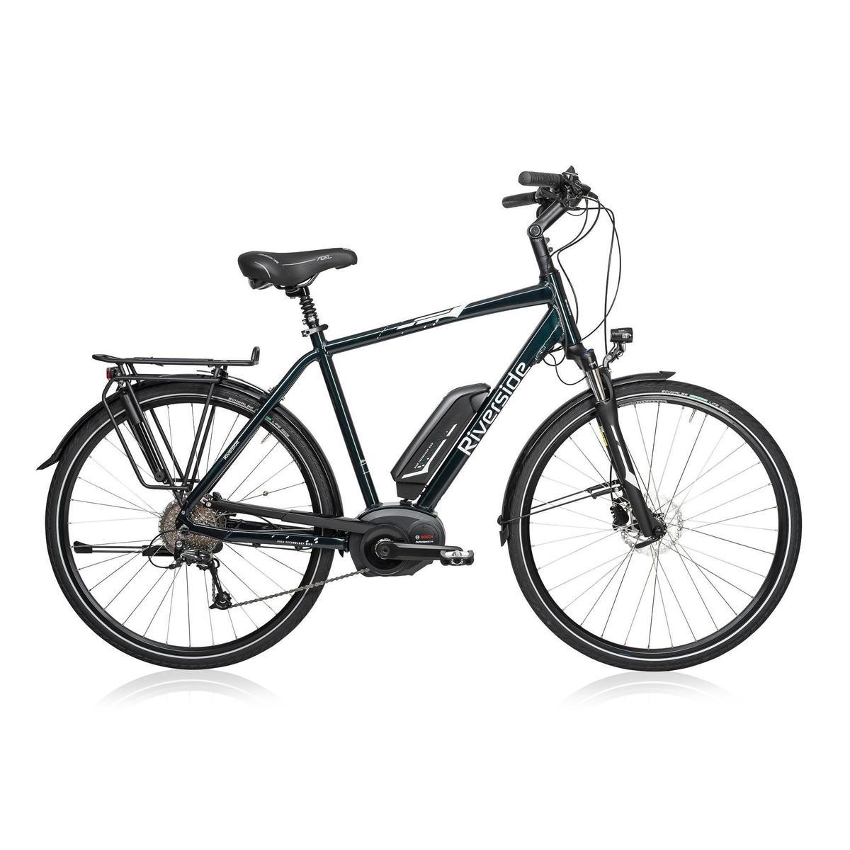 Bild 1 von E-Bike 28 Trekkingrad Riverside 500 Herren Performance Line 400Wh grün