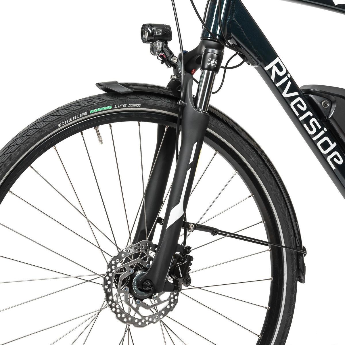 Bild 5 von E-Bike 28 Trekkingrad Riverside 500 Herren Performance Line 400Wh grün