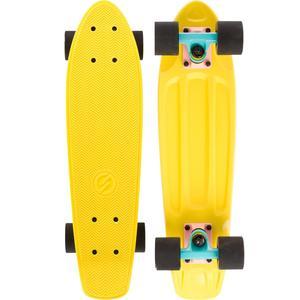 Cruiser Skateboard Yamba gelb/rosa