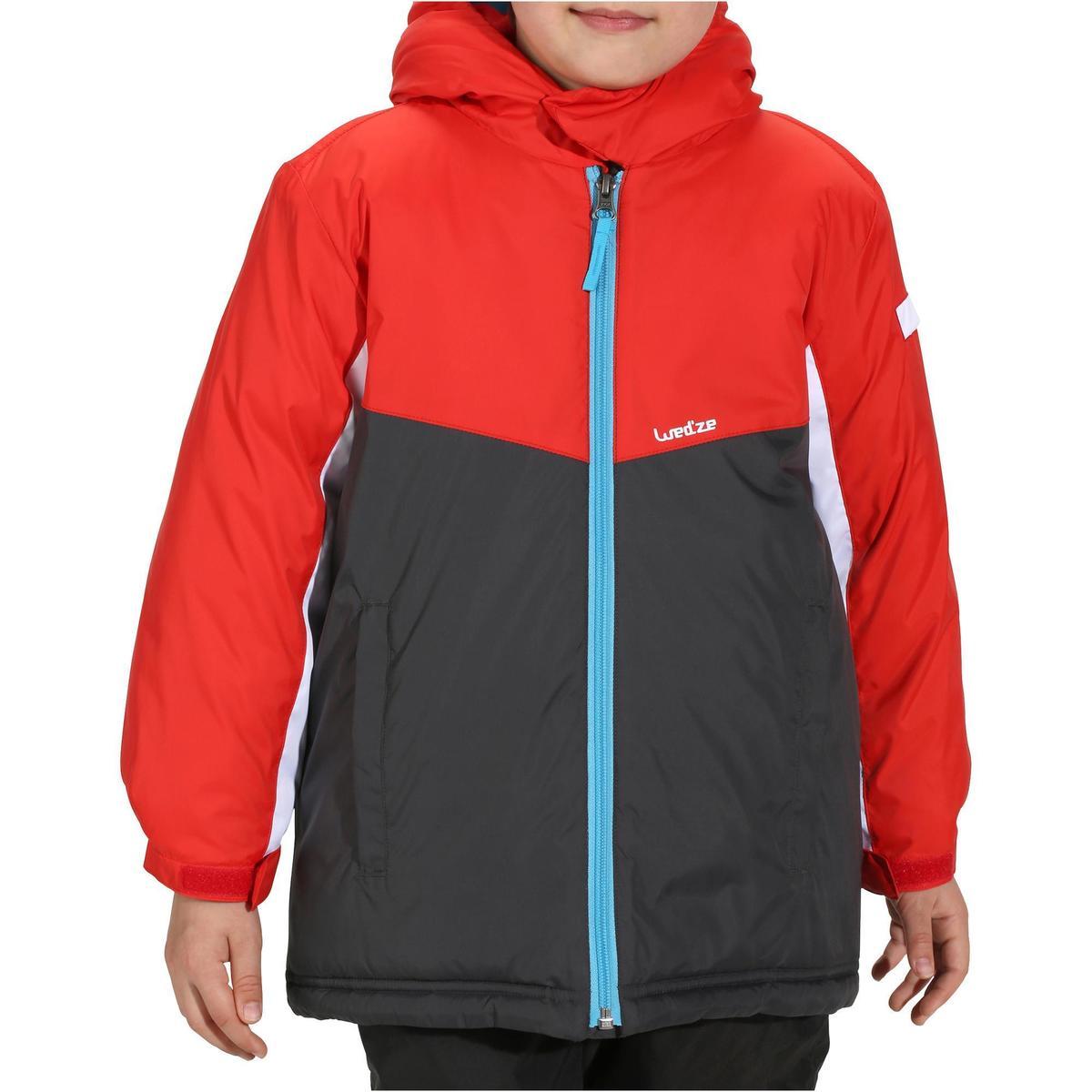 Bild 2 von Skijacke Piste 100 Kleinkinder rot