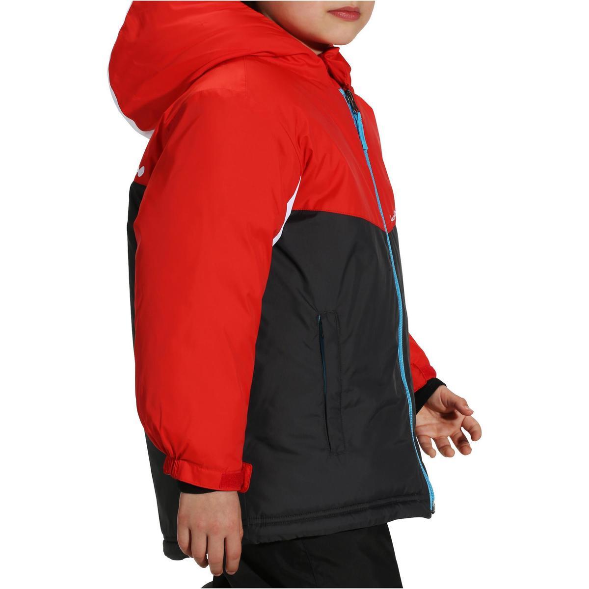 Bild 3 von Skijacke Piste 100 Kleinkinder rot